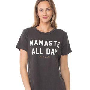 Spiritual Gangster Namaste All Day T-Shirt Size XS